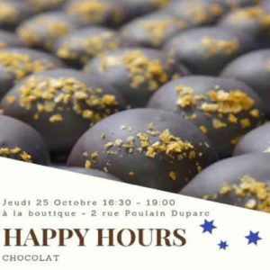 happy hours atelier chocolats fee cabosse rennes